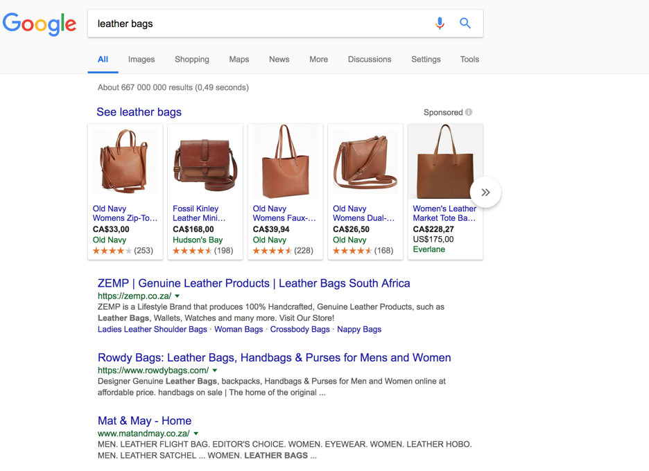 leather bags google search
