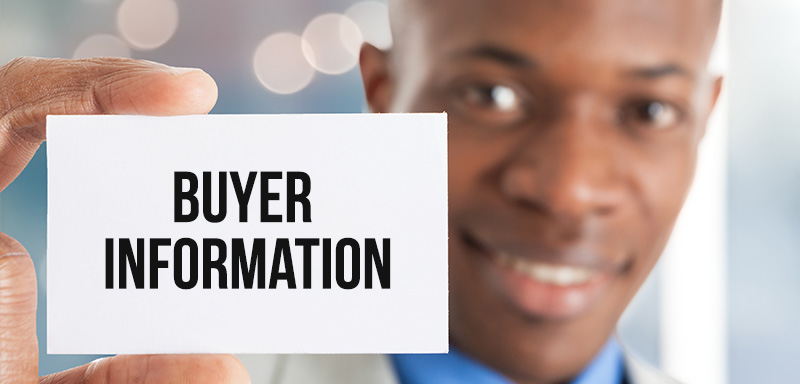 buyer information