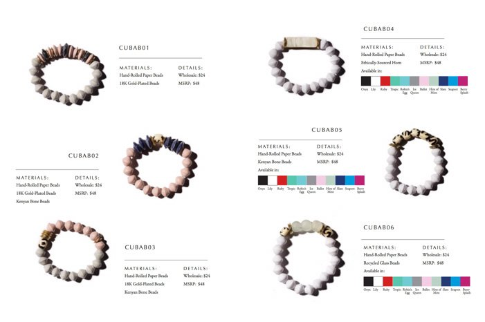 jewellery catalog template example